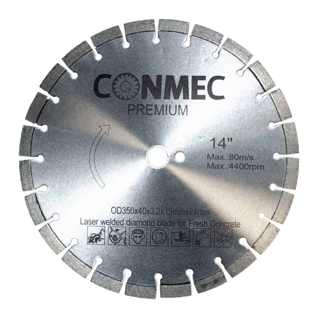 Conmec Premium 350 - disc beton proaspat